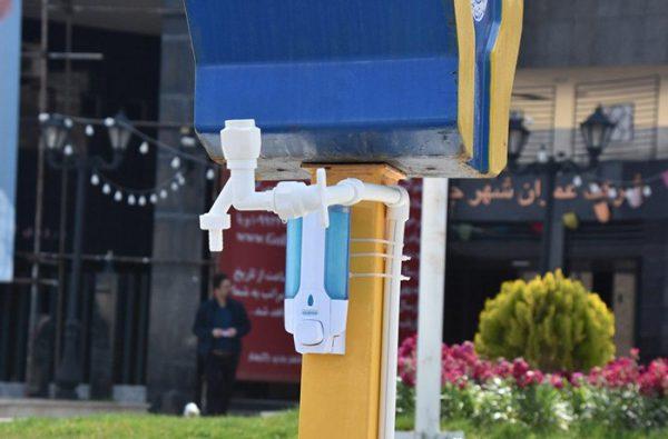 نصب انشعاب آب ورودی شرکت عمران گلبهار