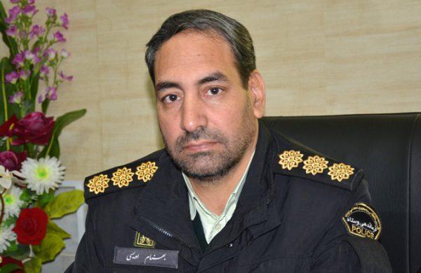 سرهنگ اویسی فرمانده انتظامی شهرستان چناران