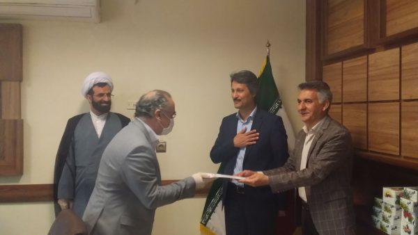 شهرام عباسی به عنوان مدیر جدید امپزشکی شهرستان منصوب شد