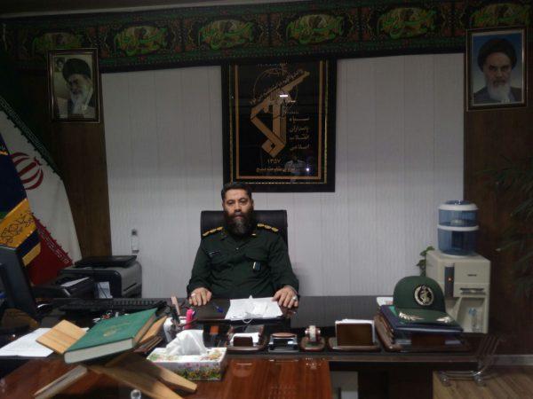 فرمانده سپاه شهرستان چناران