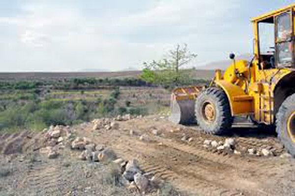 رفع تصرف ۱۰۰هکتار از اراضی کشاورزی روستای کاهو