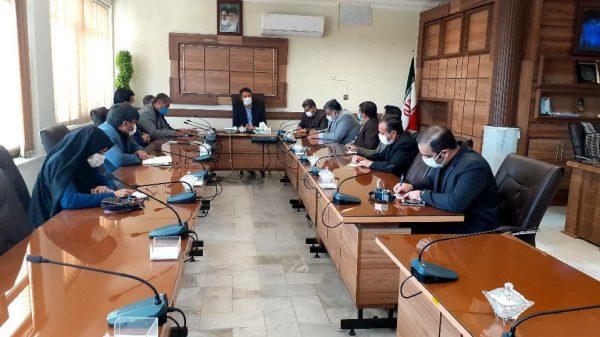 برگزاری نشست تخصصی فرماندار با جمعی از مسئولین مدارس سما