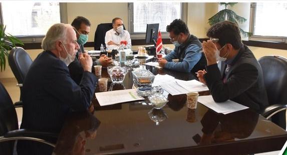 برگزاری جلسه بررسی روند پیشرفت و مشکلات پروژههای شرکت مرمربتن