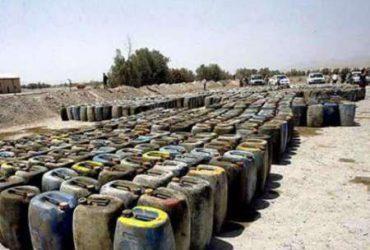 جلوگیری از سوخت قاچاق توسط مرزبانان