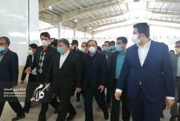 وزیر صمت به چناران آمد