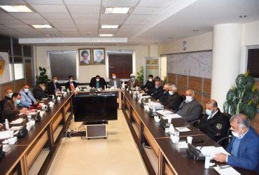 جلسه بررسی مشکلات مسکن مهر گلبهار برگزار شد