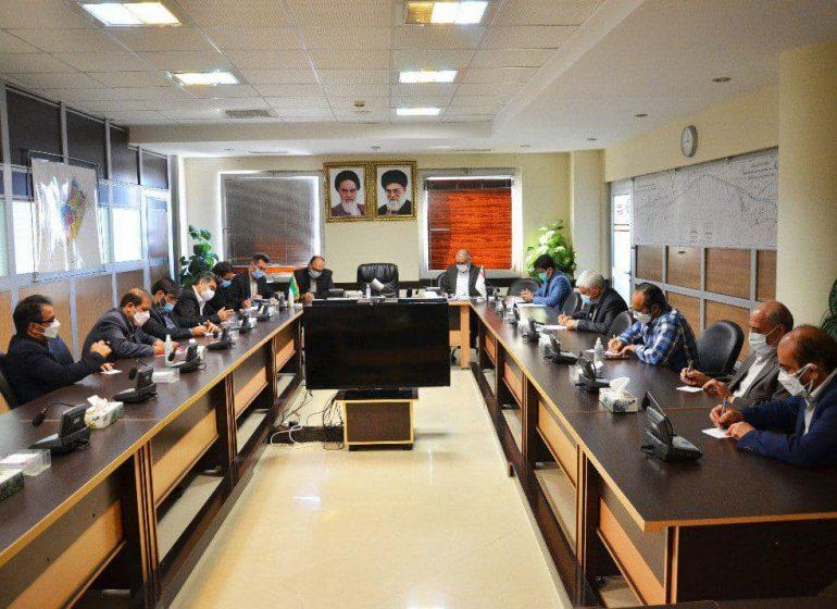 برگزاری جلسه بررسی وضعیت پروژههای باقیمانده مسکن مهر بخش تعاون در گلبهار