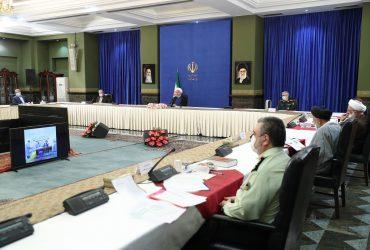 رییس جمهور در جلسه ستاد ملی مقابله با کرونا