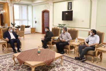 دیدار استاندار خراسان رضوی با تعدادی از فعالان اقتصادی