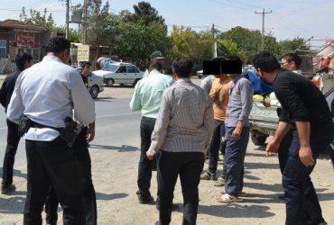 اجراي طرح جمع آوري معتادان متجاهر در چناران