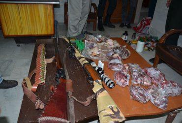 دستگيری شكارچی غيرمجاز در چناران
