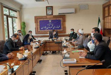 جلسه برگداشت آزادسازی خرمشهر در فرمانداری چناران