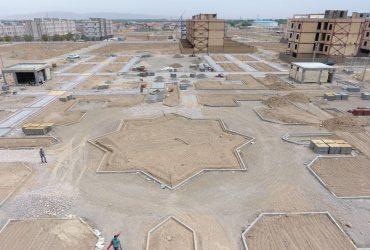 یشرفت 70 درصدی پارک محله 7 گلبهار