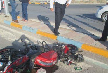 یك كشته و يك مجروح در برخورد پرايد با موتورسيكلت در گلبهار